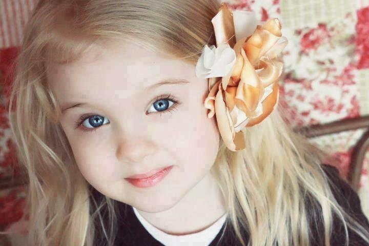 Gambar gratis anak berambut pirang