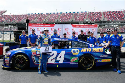 Chase Elliott, Sunoco Rookie of the Year in the Monster Energy NASCAR Cup Series.