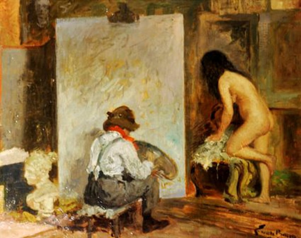 Đột nhập vào trong biệt thự hoa hồng bắt gặp chồng đang vẽ ảnh nude cho nữ giám đốc