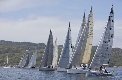 Marc Turner Scottish Series Clyde Cruising Club #legendarysailing