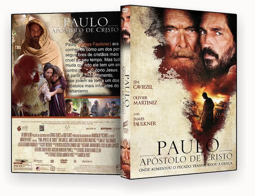 DVD – PAULO O APOSTOLO DE CRISTO 2018 – ISO -CINEMA