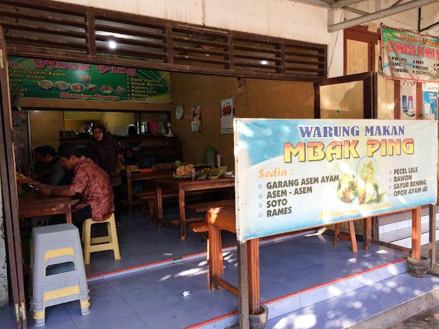 warung makan mbak ping purwodadi