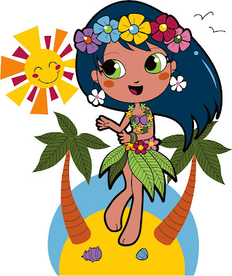 Pretty Hawaiian Free Party Printables And Images Oh My Fiesta