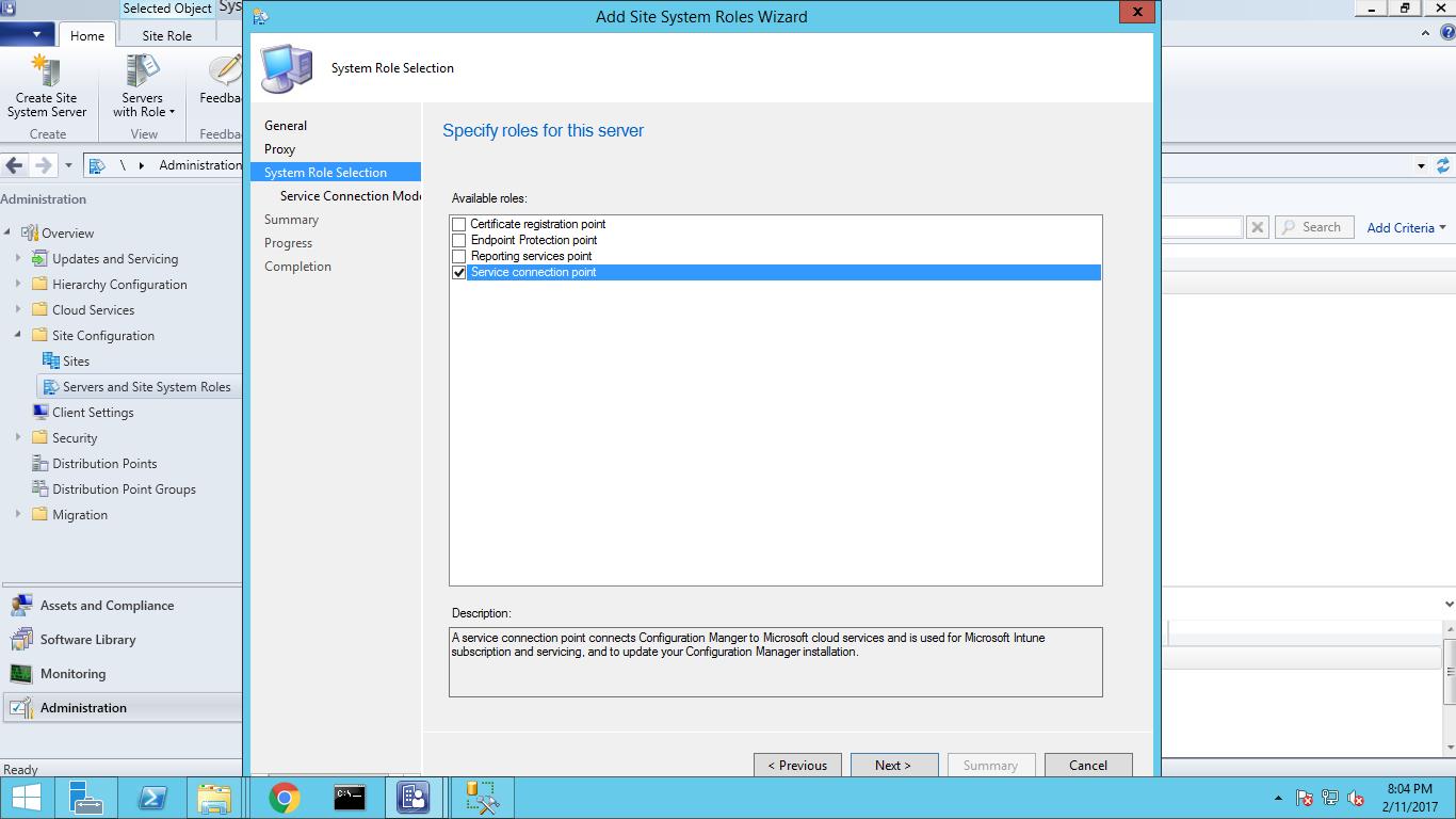 Upgrading from SCCM 2012 R2 SP1 to SCCM 1702