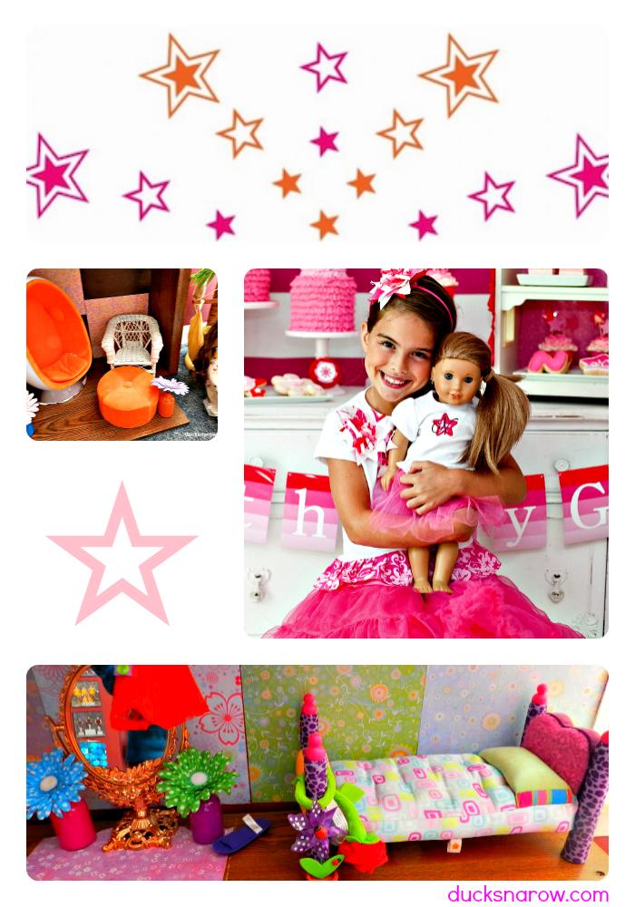 dolls, dollhouses, American Girl doll accessories, DIY doll furniture