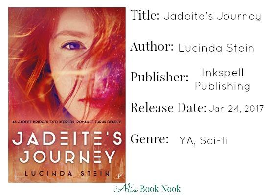 Jadeite's Journey new ya book by Lucinda Stein book publishing information