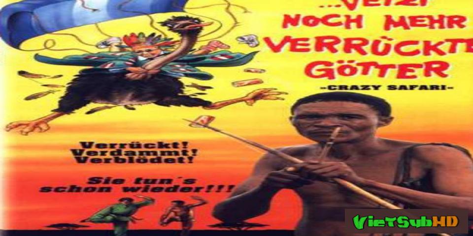Phim Đến Thượng Đế Cũng Phải Cười - Phần 3 VietSub HD | The Gods Must Be Crazy 3 1991