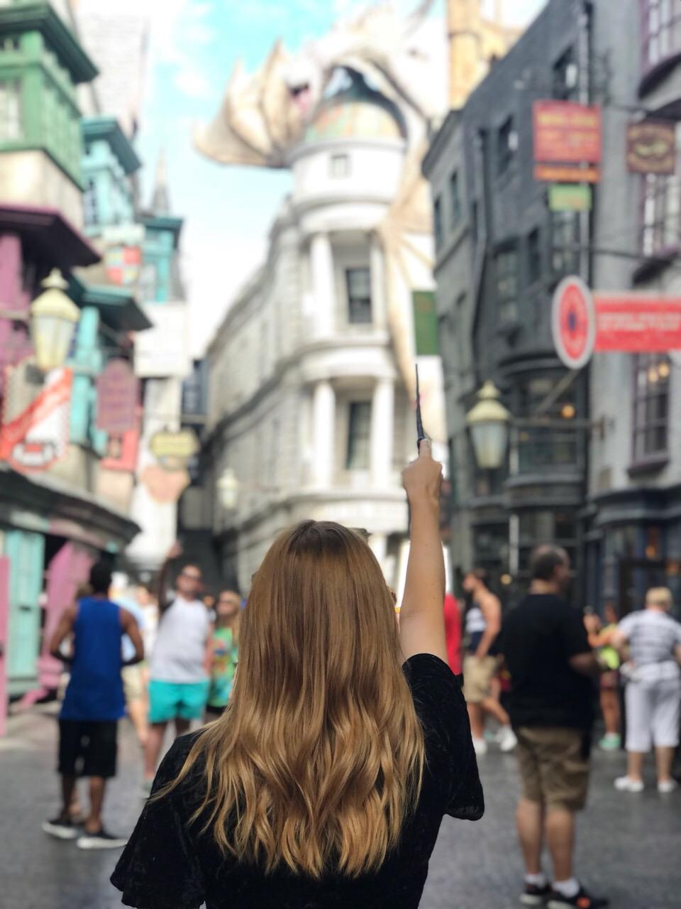 Gringotts Bank Universal Studios