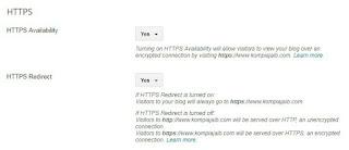 Proses Redirect Http ke Https Berhasil