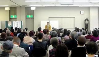 三遊亭楽春健康講演会「笑いは健康の良薬、楽しく明るく笑って笑顔に」