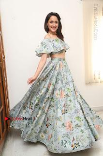 Actress Pragya Jaiswal Stills in Floral Dress at turodu Interview  0204.JPG