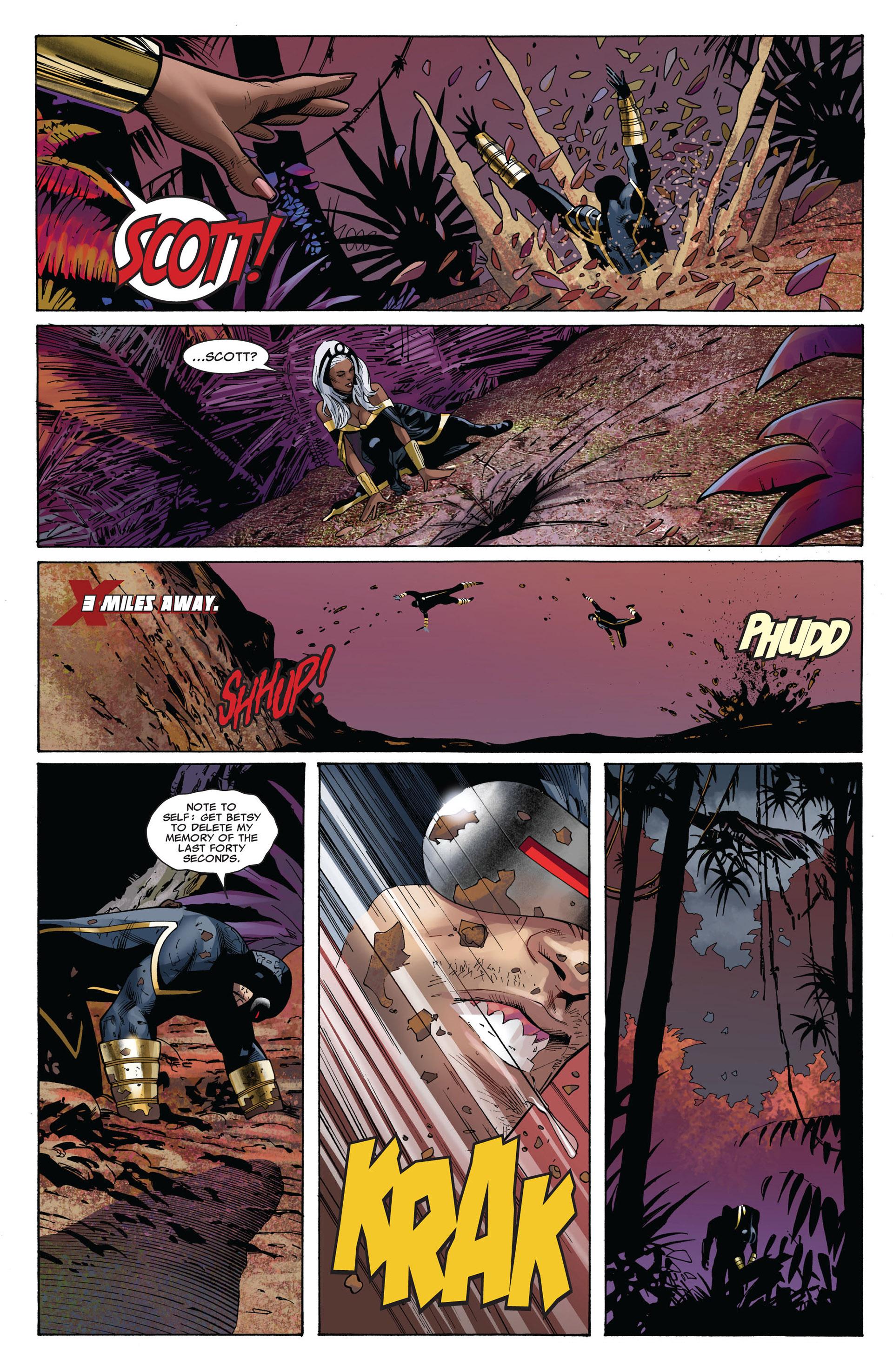 Read online Uncanny X-Men (2012) comic -  Issue #5 - 16