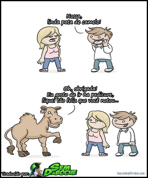 LINDA PATA DE CAMELO