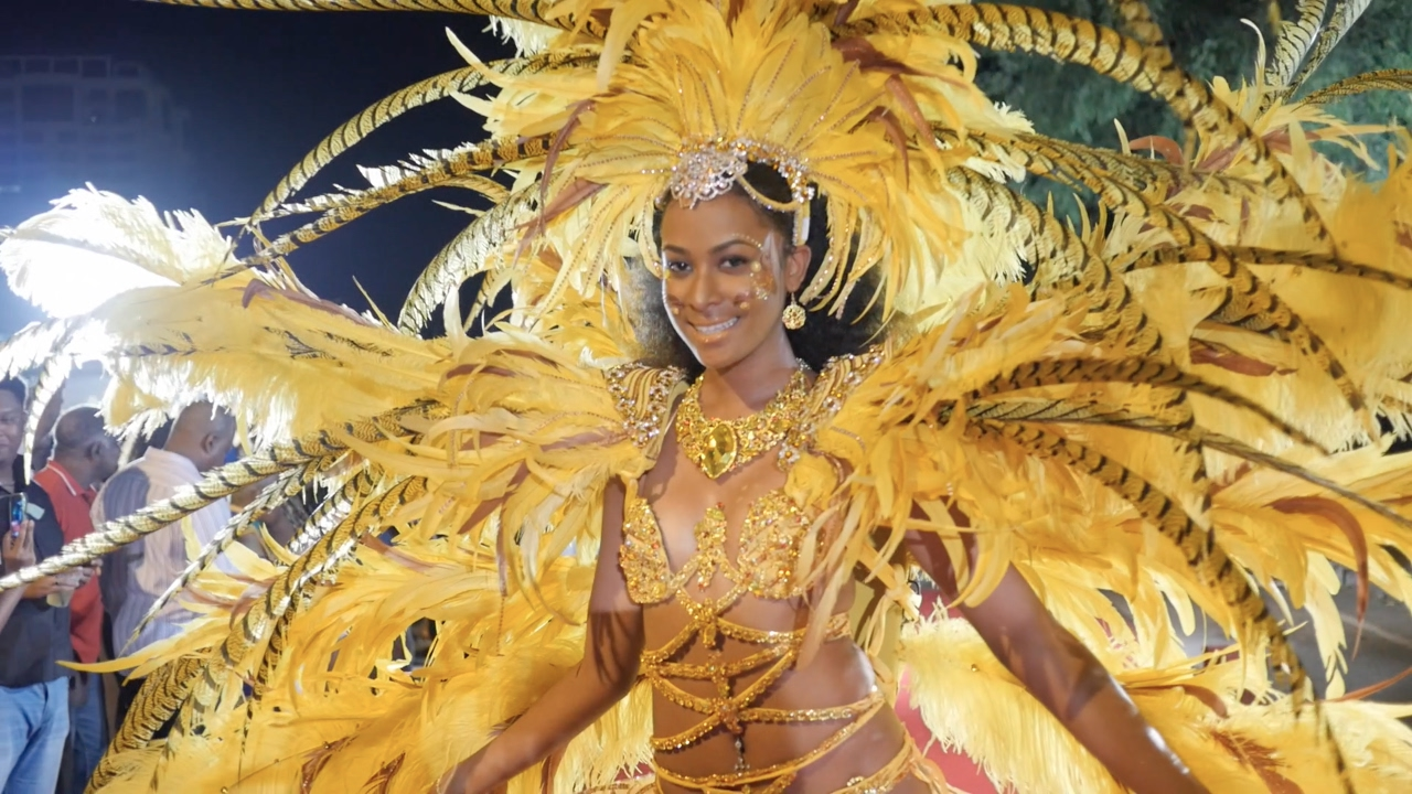 Those on! Trinidad and tobago carnival