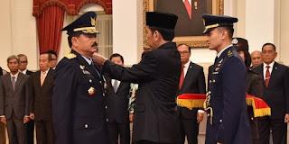 Presiden Jokowi siapkan Marsekal Hadi Tjahjanto jadi Panglima TNI