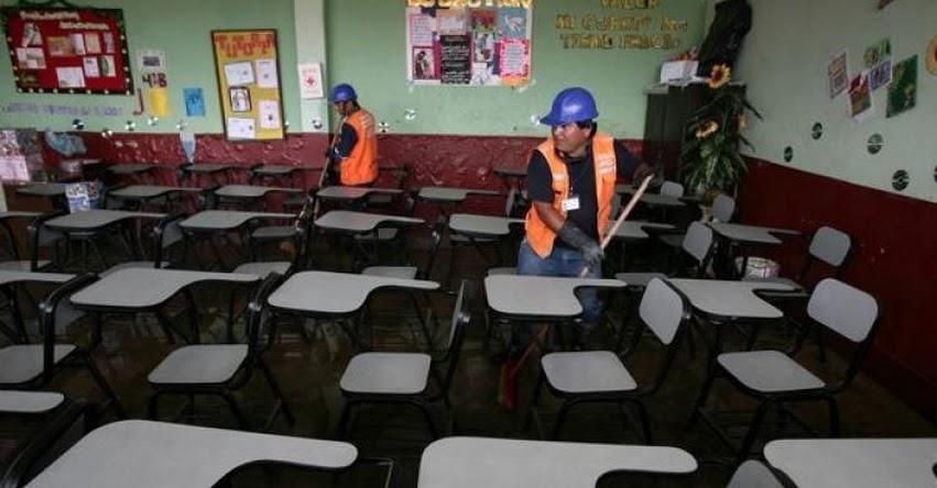 Comisión de Educación del Congreso hará seguimiento a la reconstrucción de colegios afectados por el fenómeno de El Niño costero