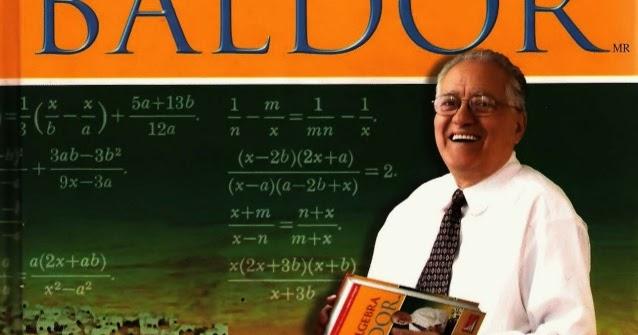 Algebra de baldor nueva edicion pdf: algebra de baldor