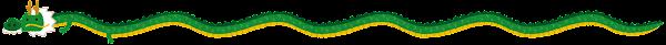 龍のライン素材(長い)