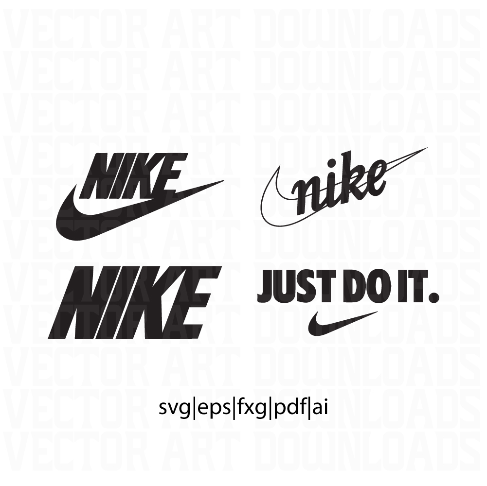 Download Nike Logo 4 Pack Vector Art Now Available For Download ...