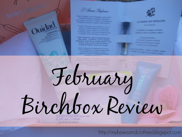 High Five for Friday + Five Minute Friday 3.18.16 February Birchbox Review