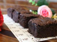 Resep Kue Brownies Panggang Lembut Dengan Coklat Keju