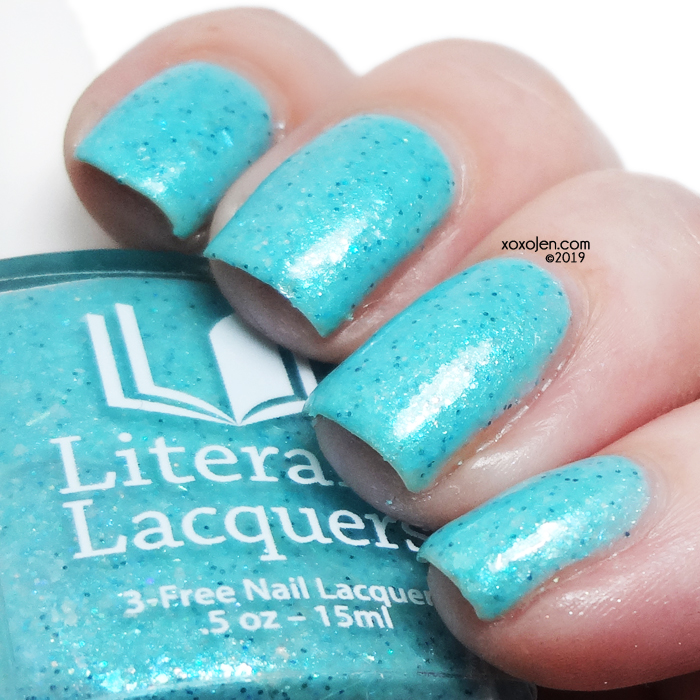 xoxoJen's swatch of Literary Lacquers Adriata