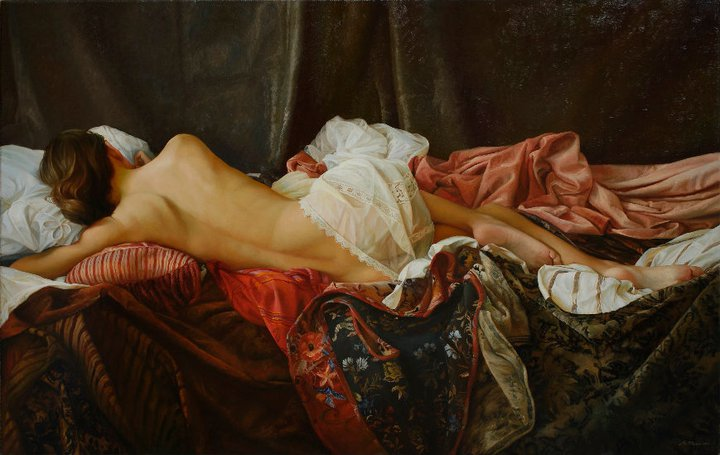 Serge Marshennikov 1971   Russian Figurative painter