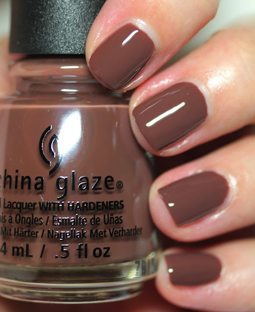 China Glaze Shades of Nude Give Me S'more