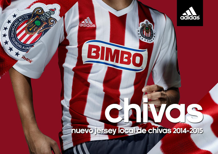1a3f6d5f3fc Chivas Guadalajara 14-15 Home Kit Released - Footy Headlines