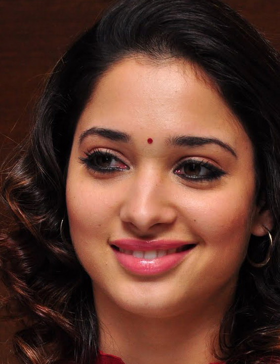 Kollywood Actress Tamannaah Face Close Up Stills