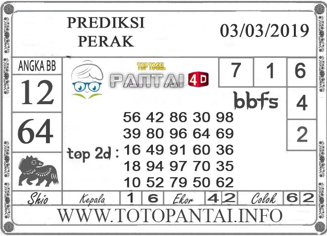 """Prediksi Togel """"PERAK"""" PANTAI4D 03 MARET 2019"""