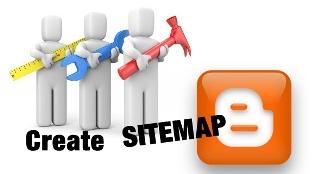 Cara Membuat Sitemap Blogger Blogspot
