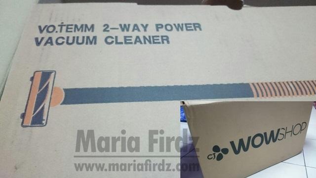 [REVIEW] VO.TEMM 2 WAY POWER VACUUM CLEANER DARI CJ WOW SHOP