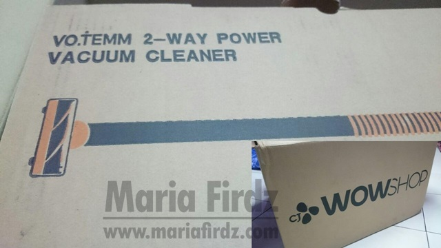[REVIEW] VO.TEMM 2 WAY POWER VACUUM CLEANER DARI CJ WOW SHOP