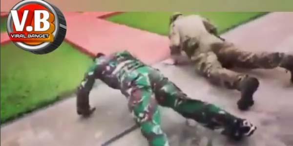 Viral Video Anggota TNI Menangi Lomba Tembak