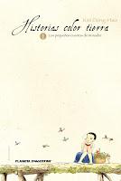 """Portada del cómic """"Historias color tierra"""", de Kim Dong-Hwa"""