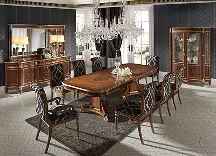 Mi casa con estilo comedores cl sicos elegantes - Comedores clasicos modernos ...