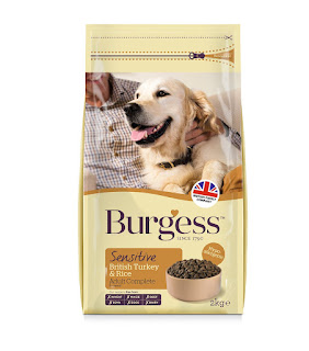 Only 3 left in stock, Burgess Dog Food Sensitive Adult Turkey and Rice 2 Kg – £6.99