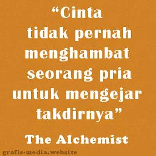 quotes the alchemist