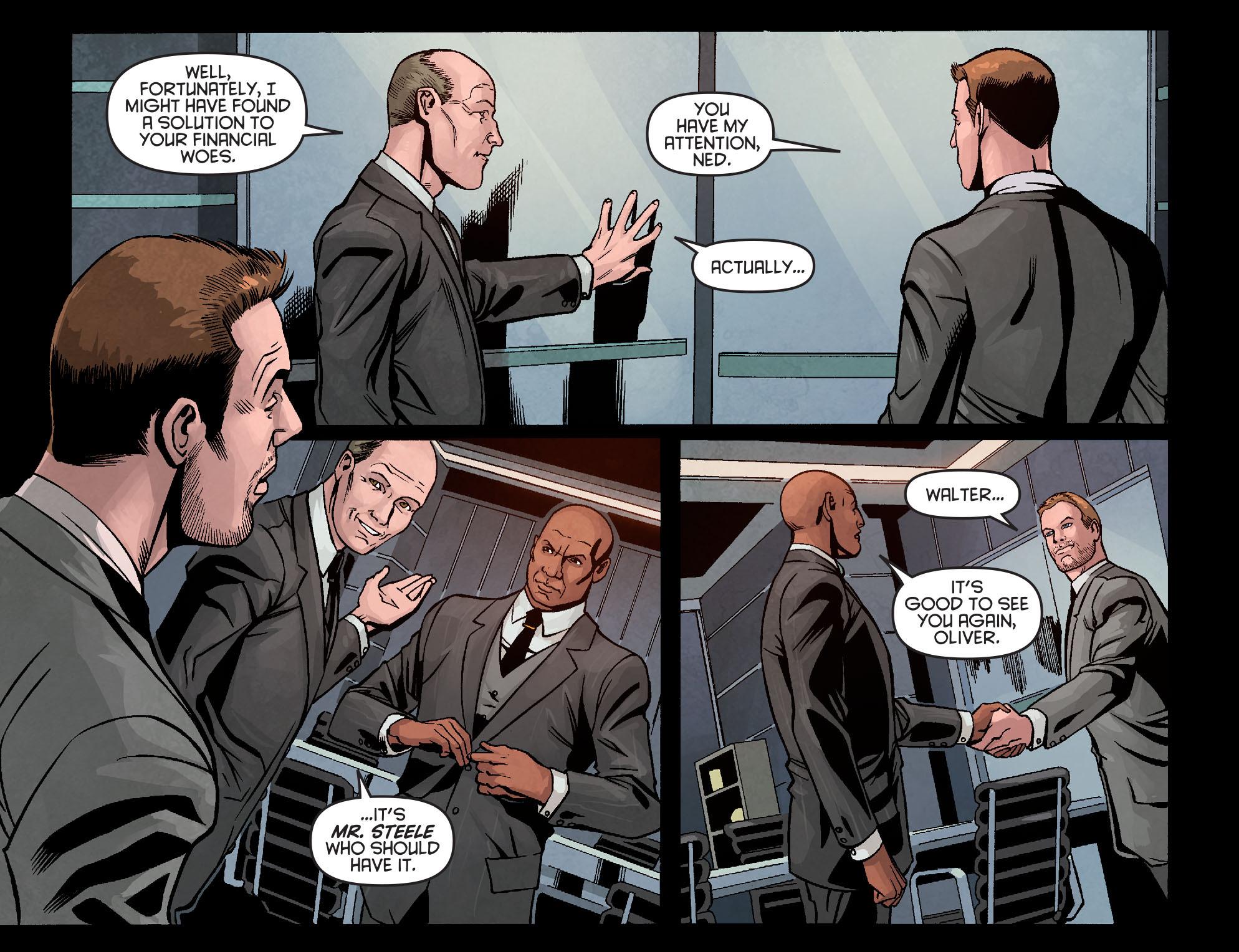 Read online Arrow: Season 2.5 [I] comic -  Issue #10 - 5