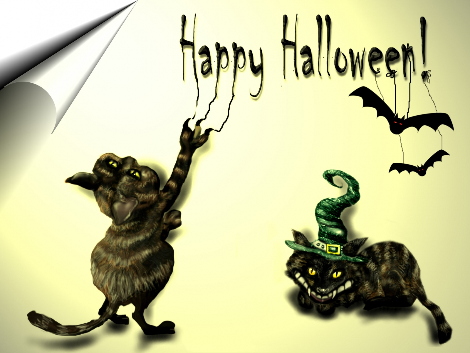 Happy-Halloween-text-black-cats-bat-theme-texted-picture-for-facebook-whatsapp.png