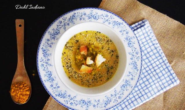 Dahl Indiano, zuppa di lenticchie rosse