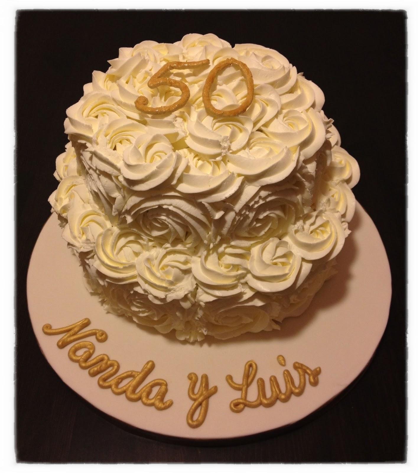 Pastel de aniversario - 1 4