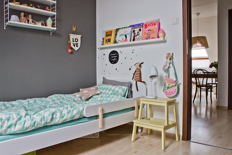pokój dziecka, pokój dziecinny, pokój dziecięcy, styl skandynawski dla dzieci