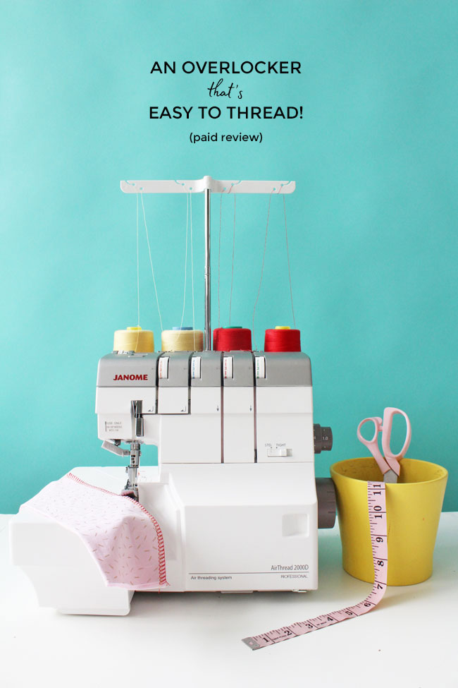 An Overlocker That's Easy to Thread! - Janome AirThread 2000D serger
