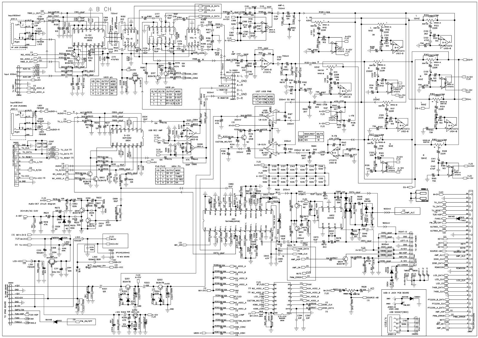 Philips Ntrx500 Mini Hi Fi System Circuit Diagram