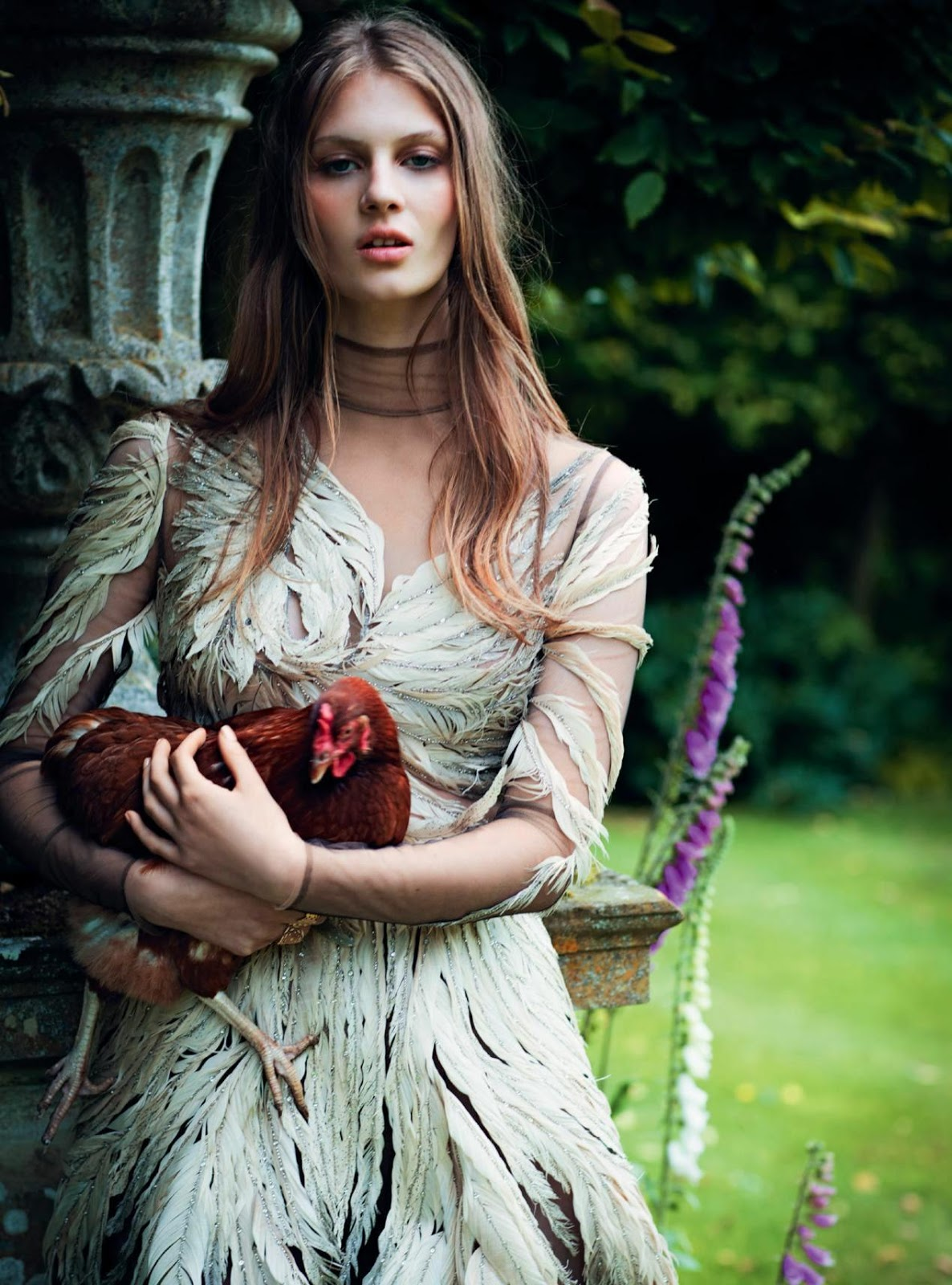 """Duchess Dior: """"Faerie Queen"""" Florence Kosky for Harper's ..."""
