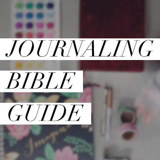 Journaling Bible Guide
