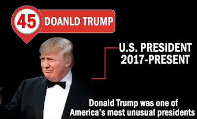 THE 45TH US PRESIDENT 2017-PRESENT: DONALD TRUMP