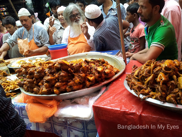 Iftar item in Chawkbazar